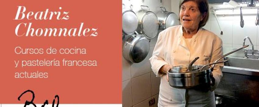 Beatriz chomnalez clases de alta cocina francesa 3 copas - Curso de cocina francesa ...